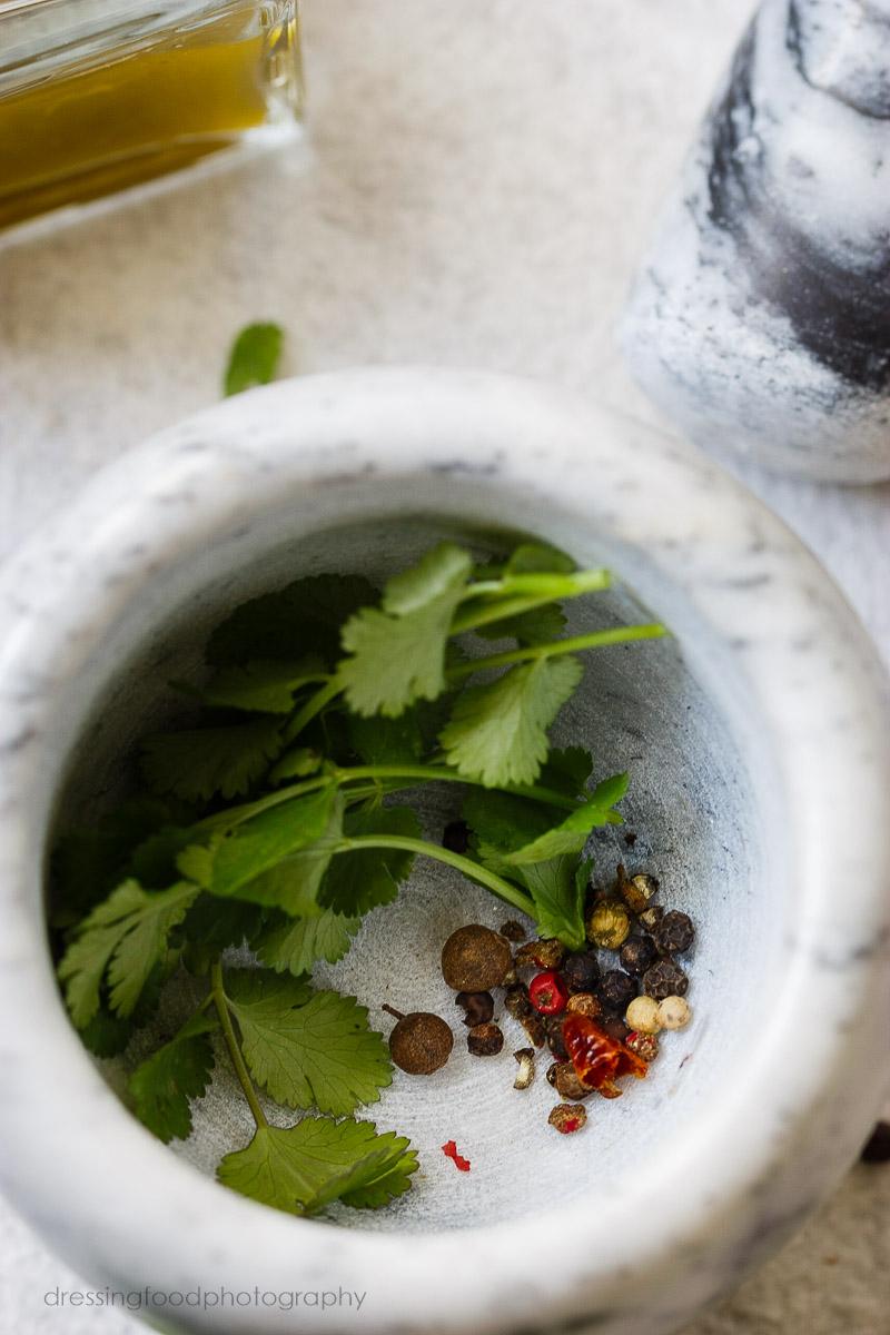 Receta crema de calabaza y cilantro