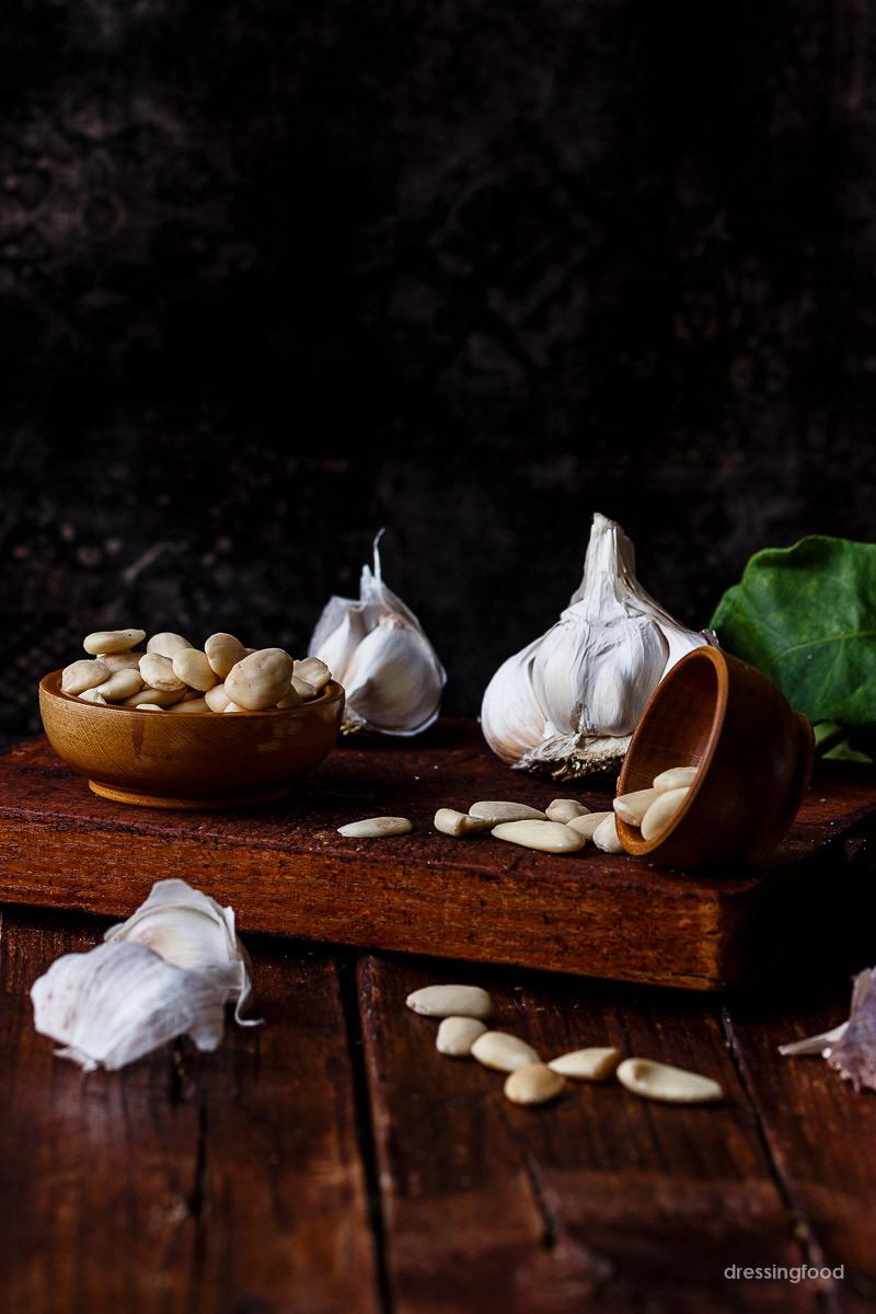 Receta tradicional de ajoblanco malagueño