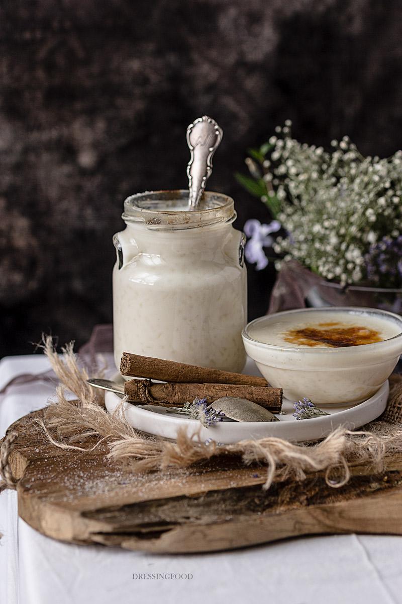 Receta arroz con leche asturiano tradicional
