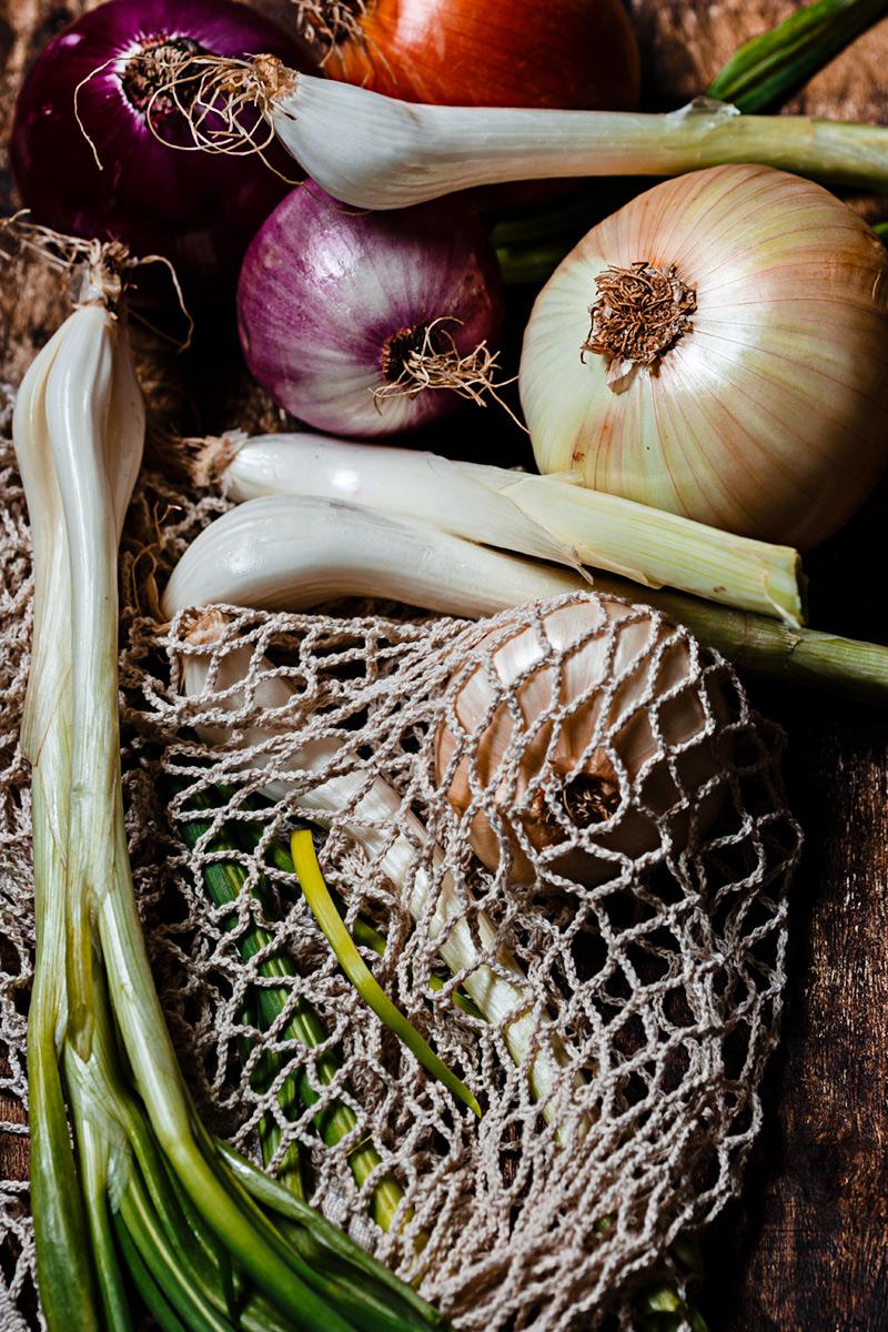 Ingrediente sopa de cebolla