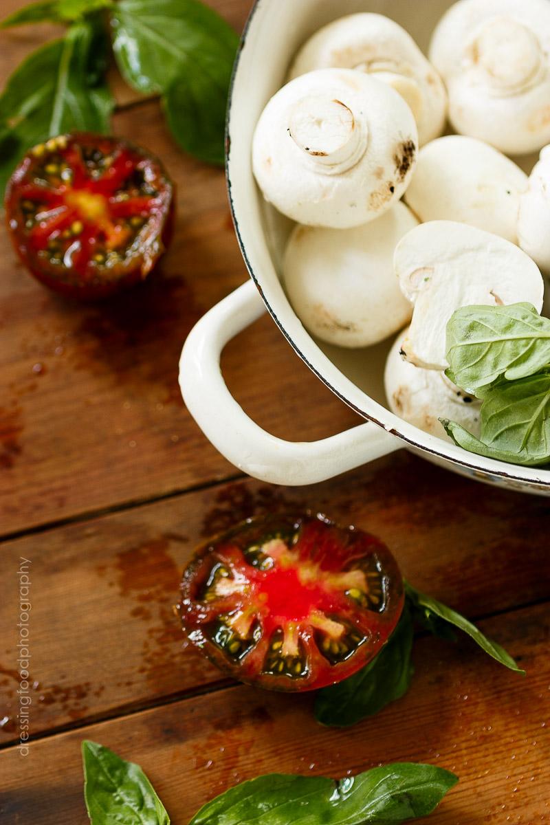 Receta de tomate relleno verdura y quinoa