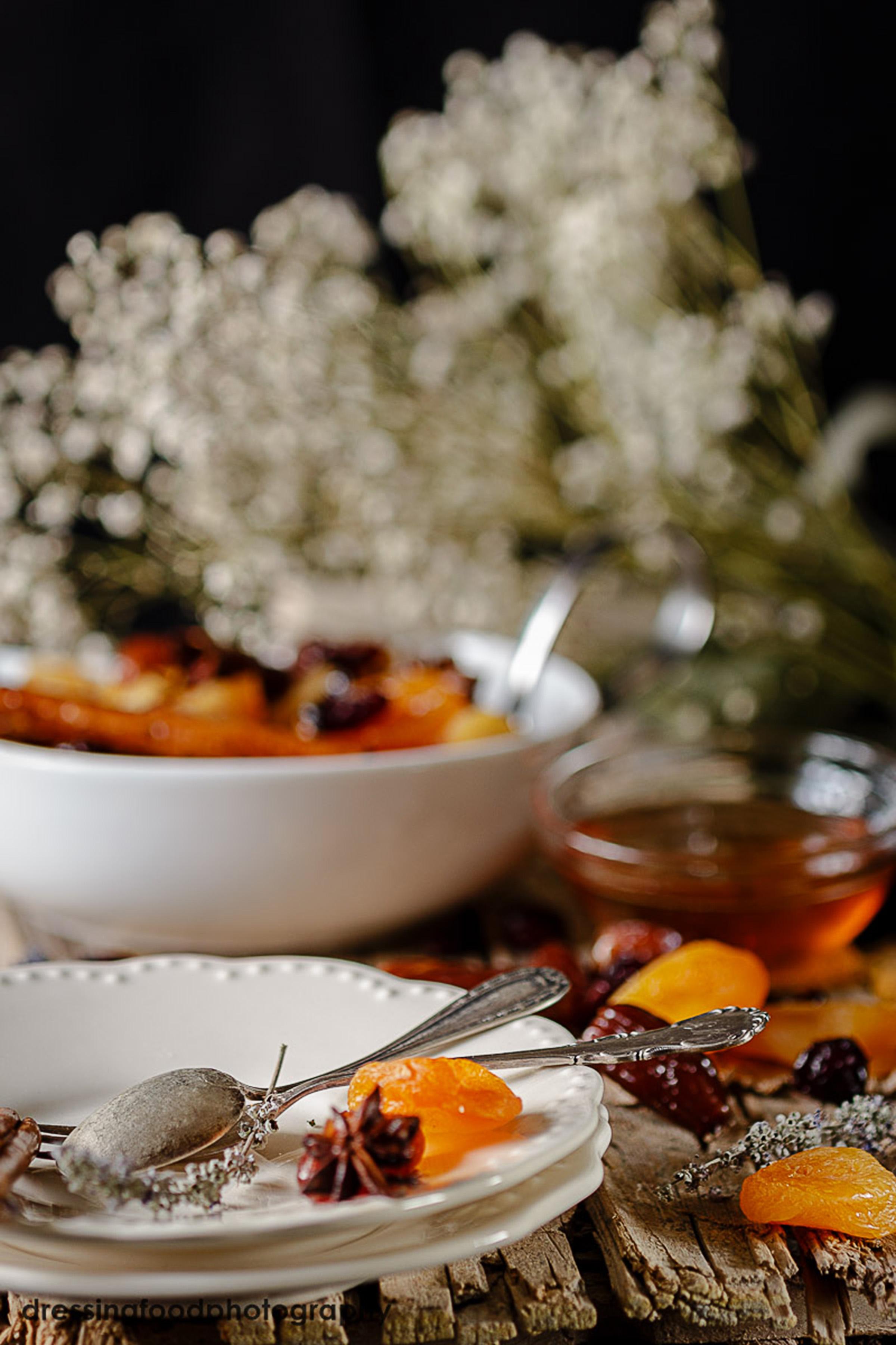 receta casera de fruta y sirope