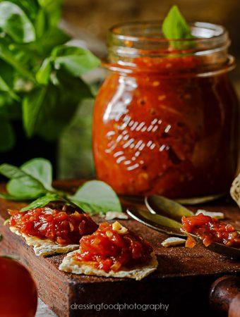 Receta de  confitura de tomate