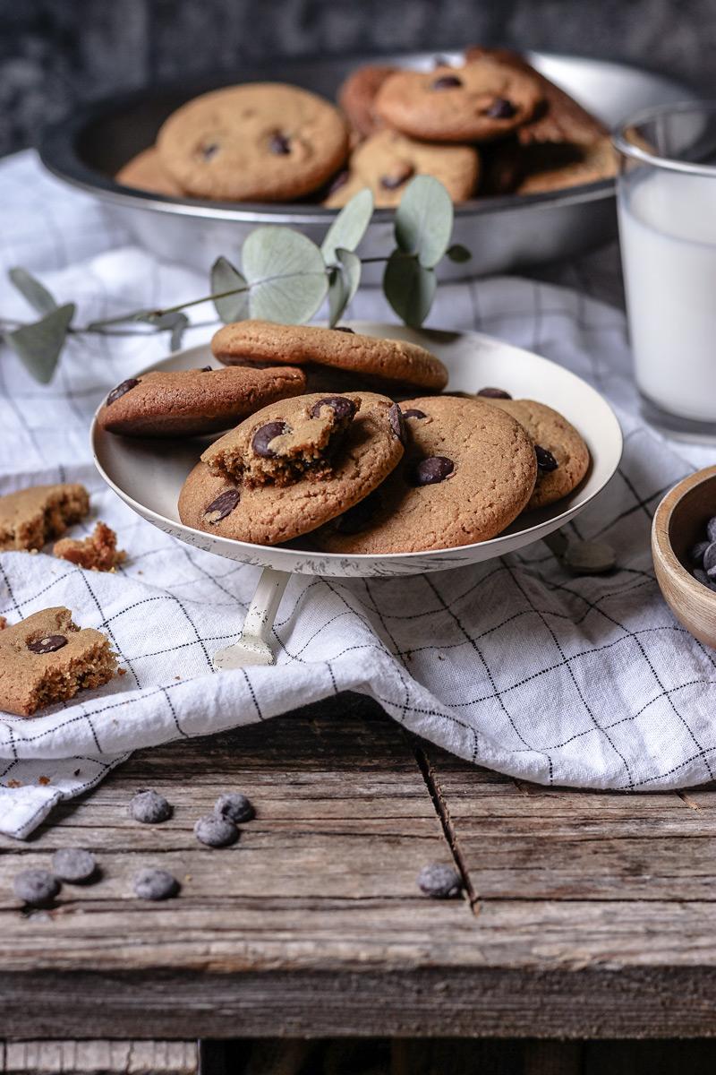 Receta cookies de chocolate caseras