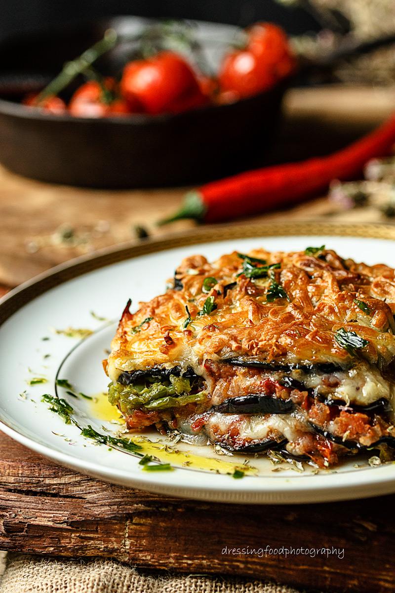 Receta de lasaña de verduras fácil