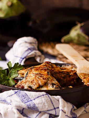 Moussaka de berenjenas receta griega