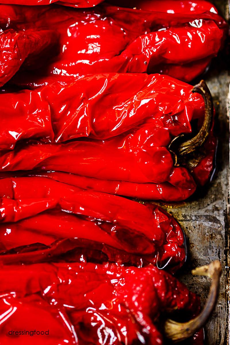 Receta de pimientos rojos