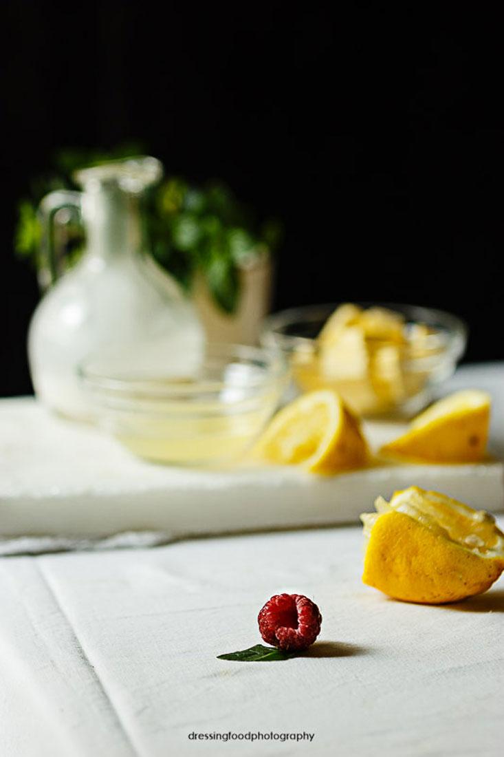 Budding de limón