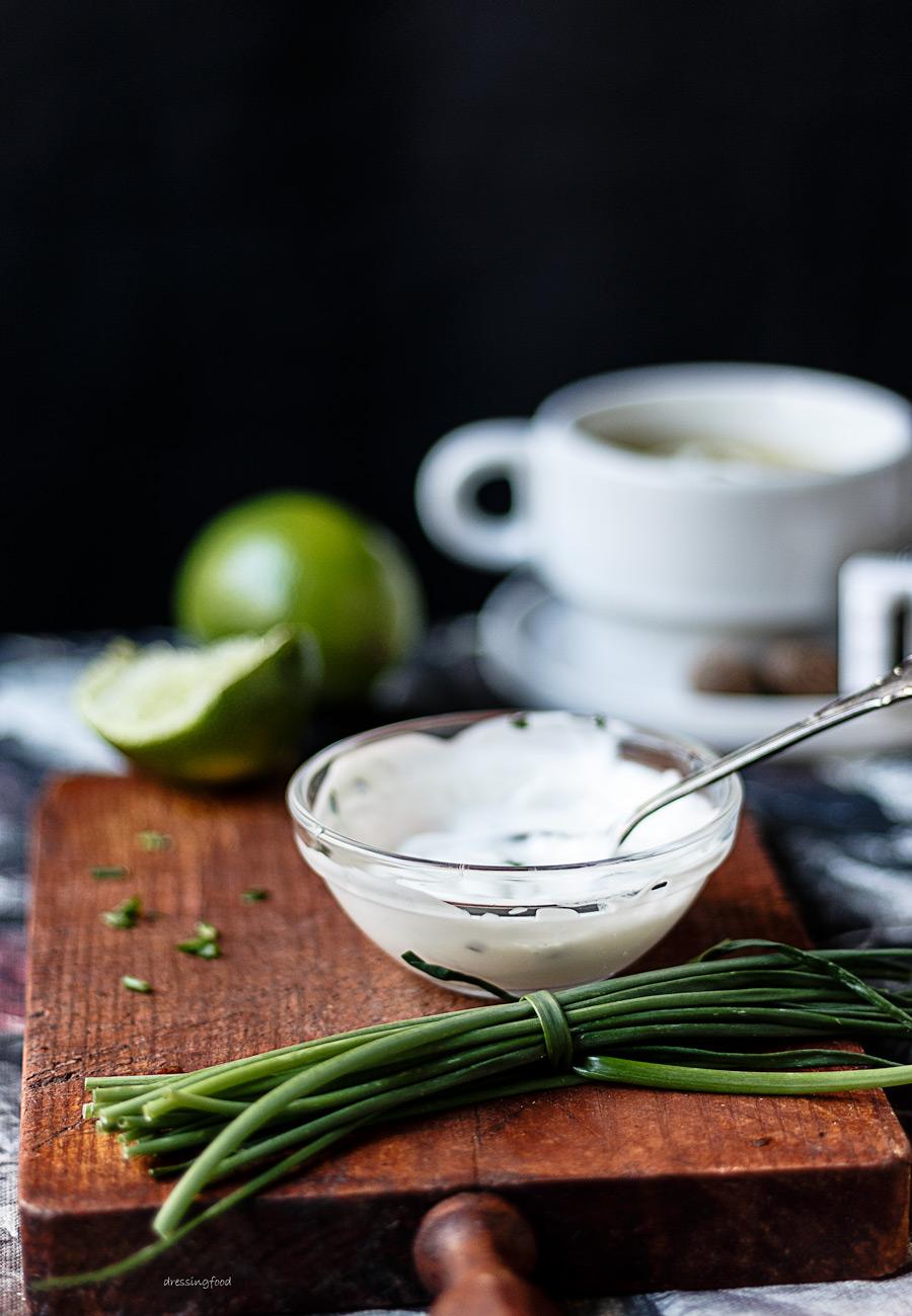 Ingredientes receta de crema de verdura.