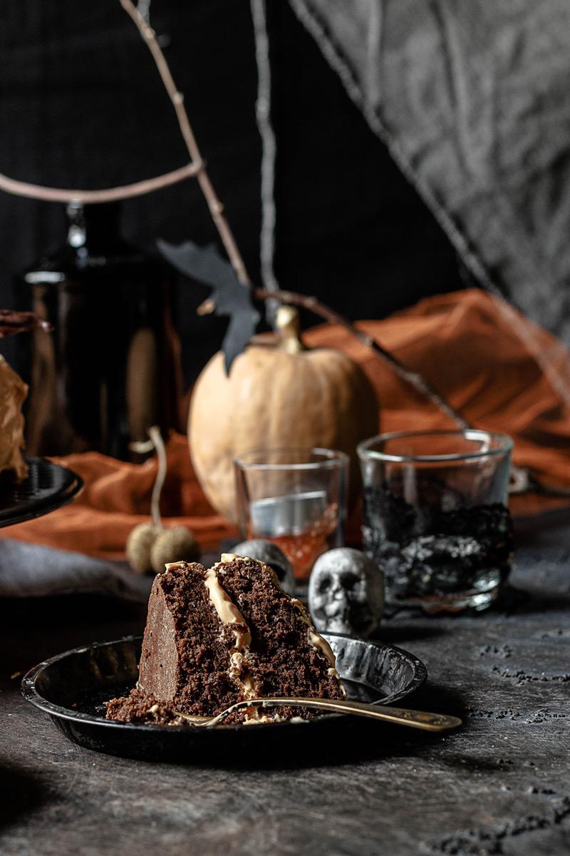 Tarta de Halloween fácil