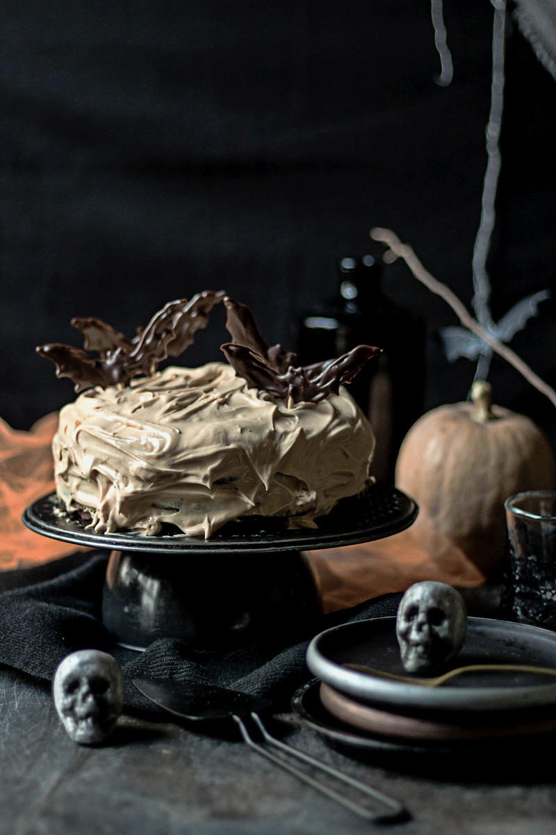 Tarta de Halloween para niños