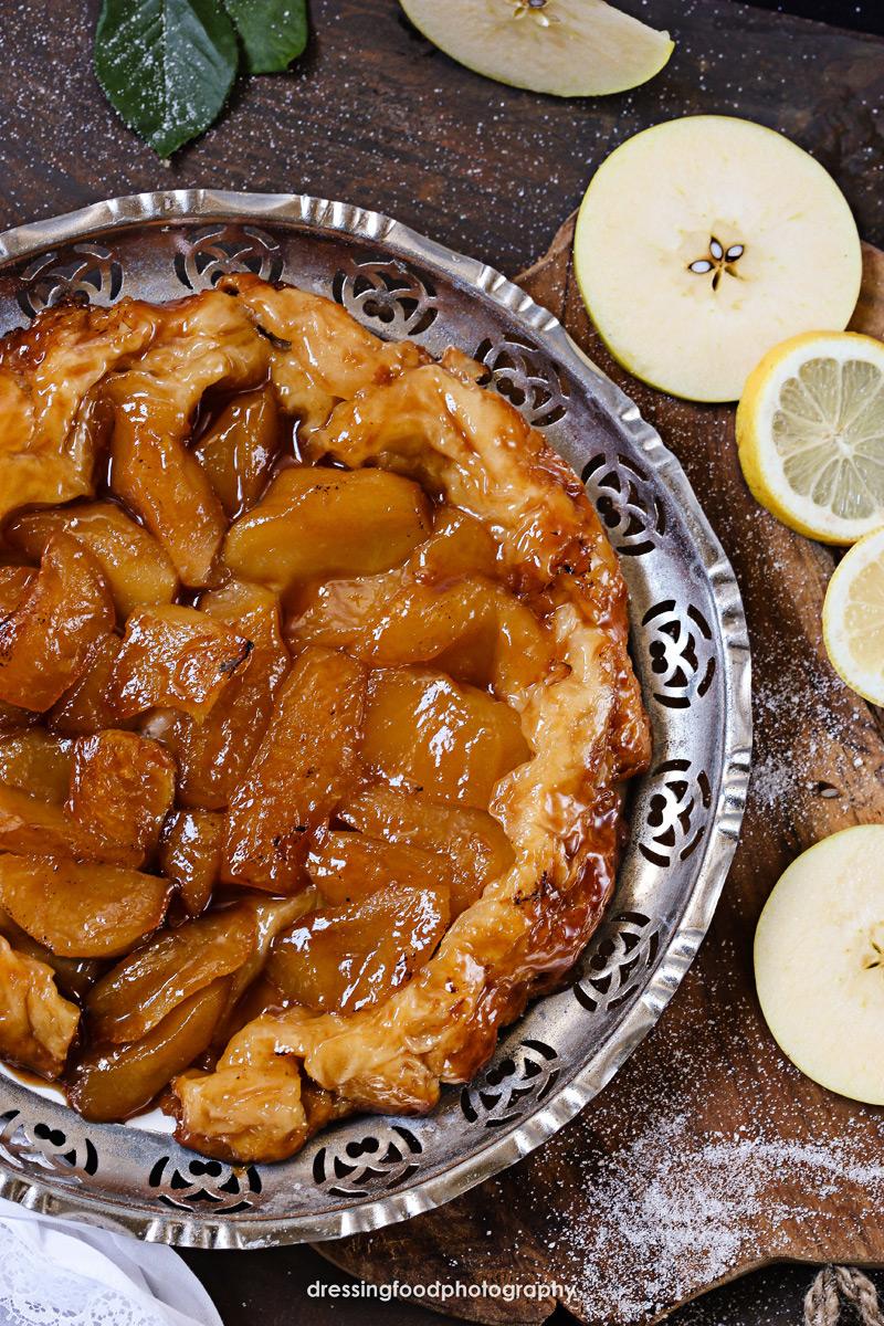 Ingrediente tarta tatín; Manzana