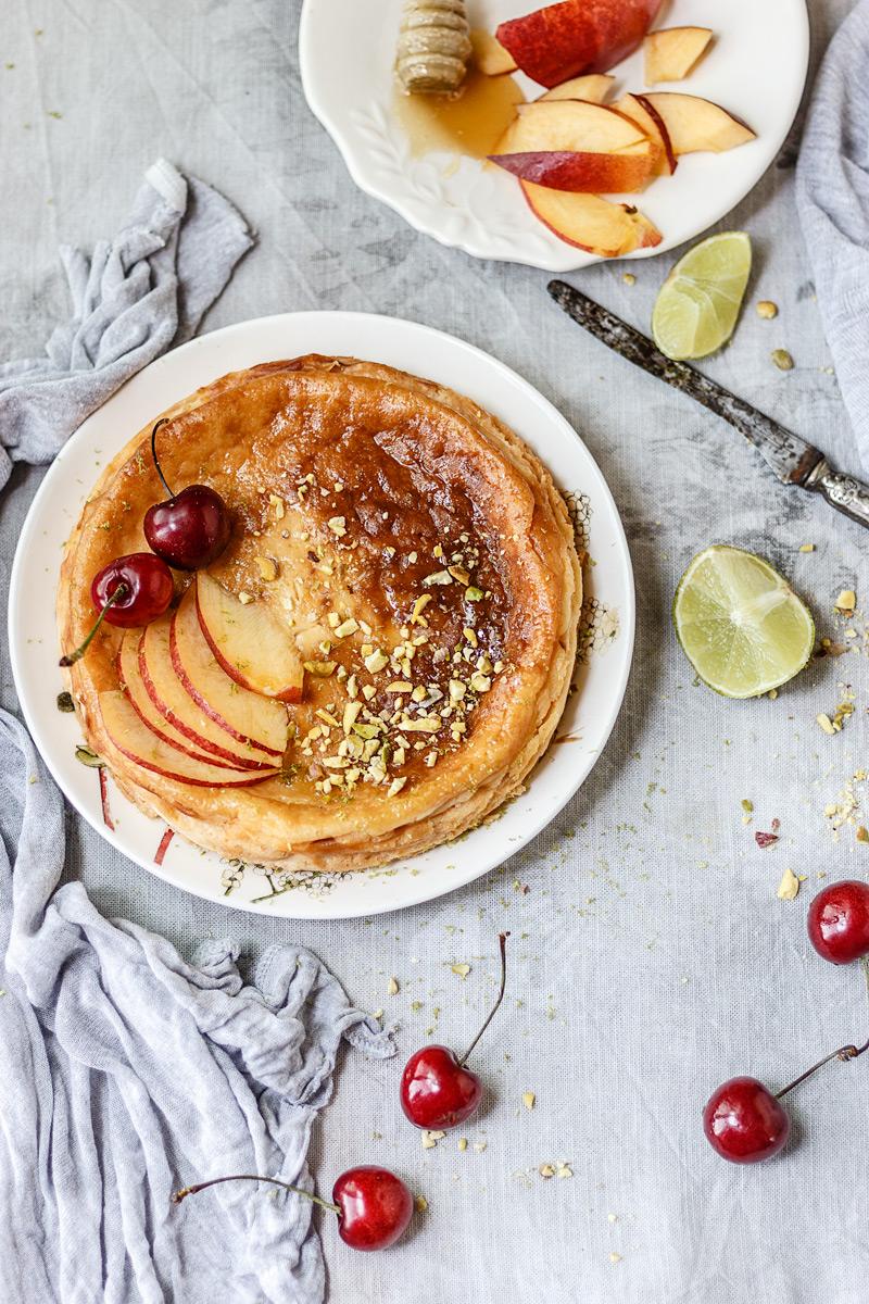 Receta de yogur griego o pastel turco