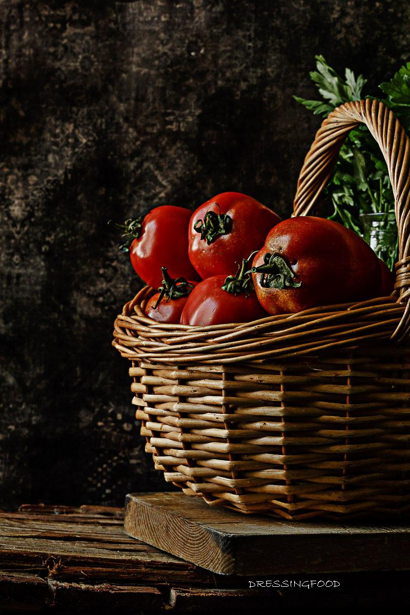 Tomates pera. Ingrediente salmorejo cordobes